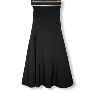 Ruby Rox Black Strapless Dress with Tulle